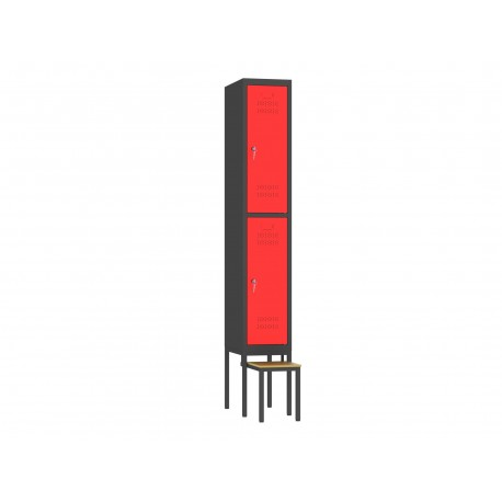 LWW300/12 szafa na ławce