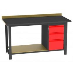 BS15L/PL90/D stół warsztatowy