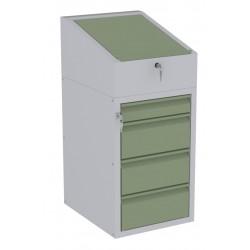 W06P/F szafka warsztatowa z pulpitem