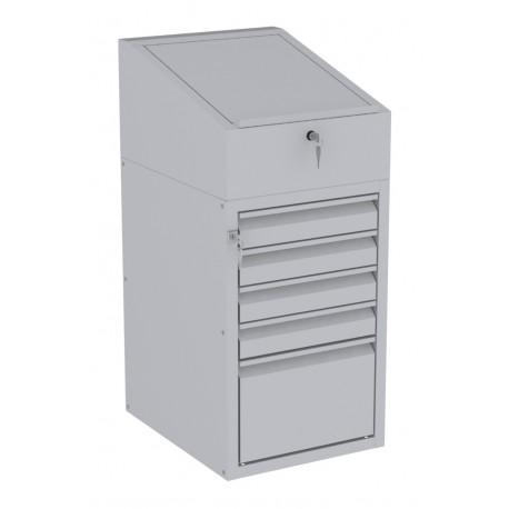 W06P/H szafka warsztatowa z pulpitem