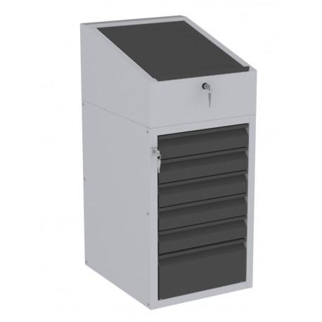 W06P/I szafka warsztatowa z pulpitem