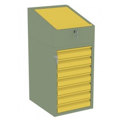 W06P/J szafka warsztatowa z pulpitem