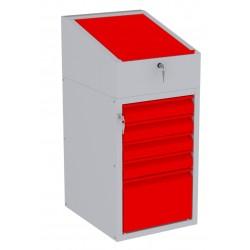 W06PK/H szafka warsztatowa z pulpitem