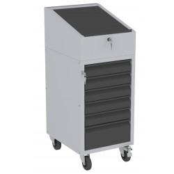 W06PK/I szafka warsztatowa z pulpitem