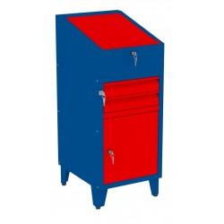 W06PN/C szafka warsztatowa z pulpitem