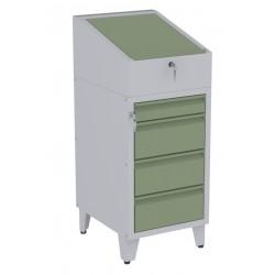 W06PN/F szafka warsztatowa z pulpitem