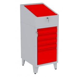 W06PN/H szafka warsztatowa z pulpitem