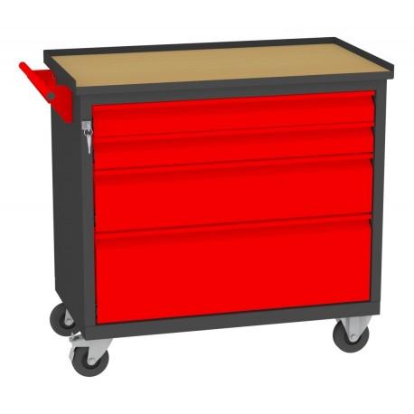 WN09A/2xE wózek narzędziowy